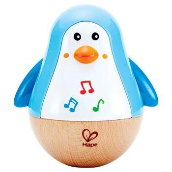 Hape Penguin Musical Wobbler E0331