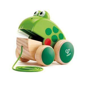 Hape Frog Pull Along E0361 Online in UAE