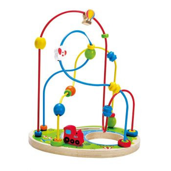 Hape Playground Pizzaz Wooden Beads Maze Online in UAE
