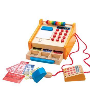 Hape Childrens Wooden Checkout Register E3121