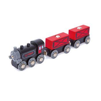 Hape Steam-era Freight Train E3717