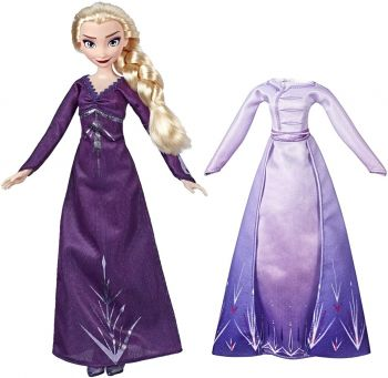 Disney Frozen 2 Arendelle Fashions Elsa Doll With 2 Outfits E6907