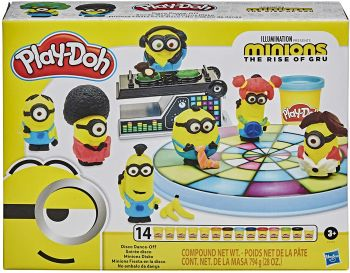 Play-Doh Uni The Rise Of Gru Minions Disco Dance Off E8765