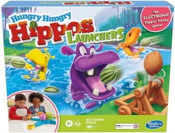 Hungry Hungry Hippos Launchers Game E9707