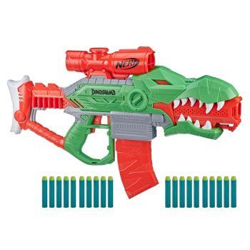 Nerf DinoSquad Rex-Rampage Motorised Dart Blaster F0807