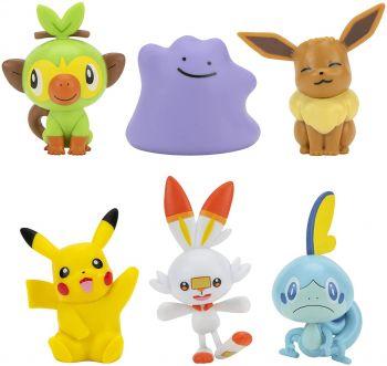 Pokemon Battle Figure Multi 6 Pack PKW2471