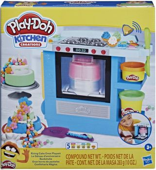Play-Doh Kitchen Creations Rising Cake Oven Playset F1321