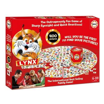 Educa Lynx 400 Pictures Board Game 18380