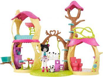Mattel Enchantimals Playhouse Panda Set FNM92