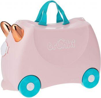 Trunki Flossi Flamingo 4 Wheel Hard Ride On TI0353-GB01