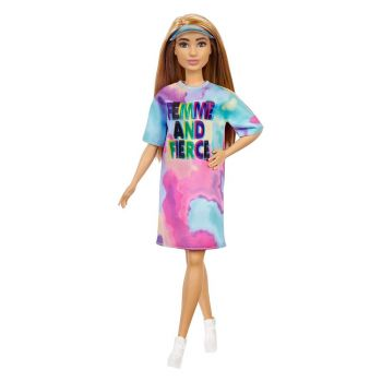 Barbie Fashionistas Doll Petite With Light Brown Hair GRB51