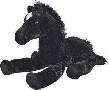 Nicotoy Floppy Horse 62cm Black 6305837462