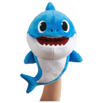 Pinkfong Baby Shark Blue Daddy Shark Singing Puppet