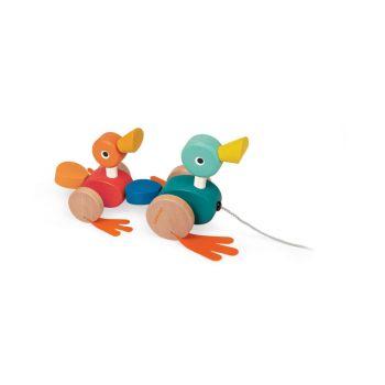 Janod Duck Family Pullalong J08211