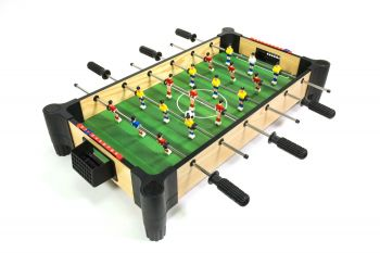 Wood Tabletop Football Foosball or Soccer with Elevated Surface MA3150