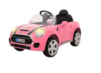 Megastar Mini Cooper Battery Operated Ride On Pink Car DLS06