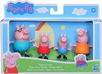 Peppa Pig Peppa's Family 4pack F2190
