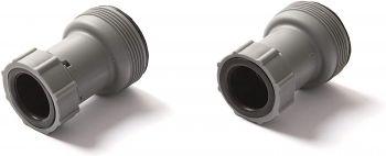 Bestway Flowclear Hose Adapters Grey 2pcs 58236