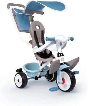 Smoby Baby Balade Plus 3-in-1 Tricycle Blue 7600741400