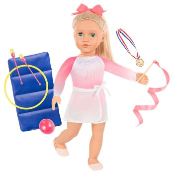 Our Generation Diane Deluxe Gymnast Doll with Accessories BD31352Z