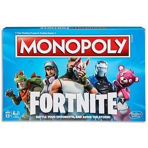Monopoly Fortnite Game