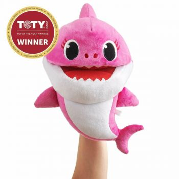 Baby Shark Singing Puppet with Tempo Control Mommy Shark