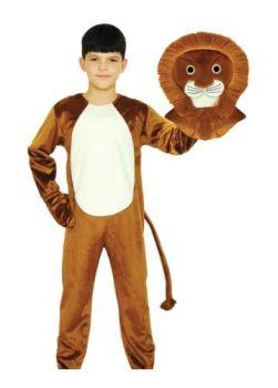 Lion Costume 8-9Y/O
