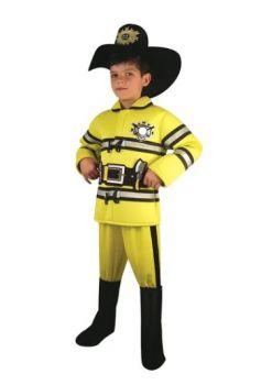 Fireman Costume 8-9Y/O
