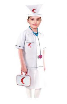 Doctor Girl Costume 8-9Y/O