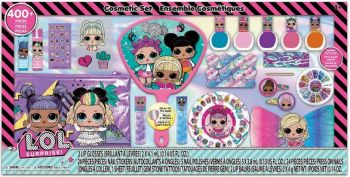 LOL Surprise Mega Set with Lip Nail and Hair Accessories Makeup LL0142GB