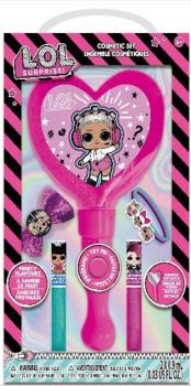 LOL Surprise Sparkly Lip Balm with Light up Mirror & Makeup LL0007GA