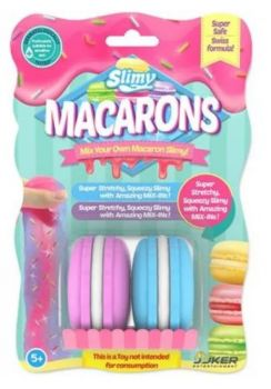 Slimy Macarons in Blister Card 33810 Pack of 2 - Asst.