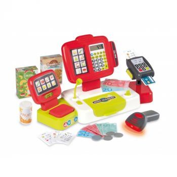 Smoby Large Cash Register Red/Green 7600350111