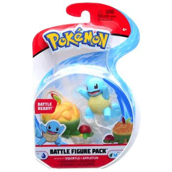 Pokemon Battle Figure Pack - Squirtle vs Appletun PKW0133/95007