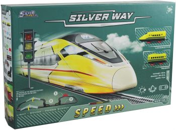 Silver Way High-Speed Train Trackset D-Power SW8155