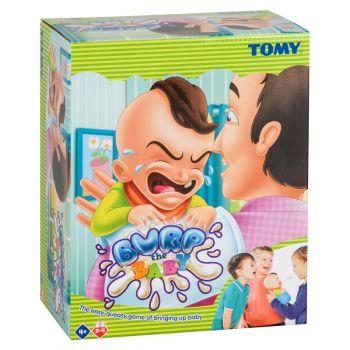 Tomy Burp The Baby Childrens Game