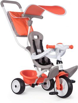 Smoby Baby Balade Tricycle Red 7600741105