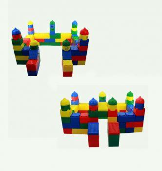 Colorland Toys Kindergarten Large Brick Building Block Construction 100Pcs