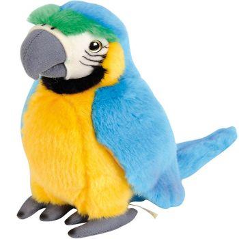 Nicotoy Plush Blue Parrot 24cm 6305851094