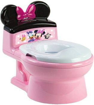 Minnie Mouse Potty & Trainer Seat Pink Y11334