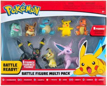 Pokemon Battle Figure Multi 8-Pack PKW0184