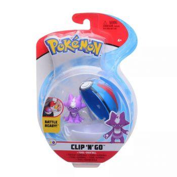 Pokemon Clip 'n Go Toxel & Great Ball Figure Set PKW0154