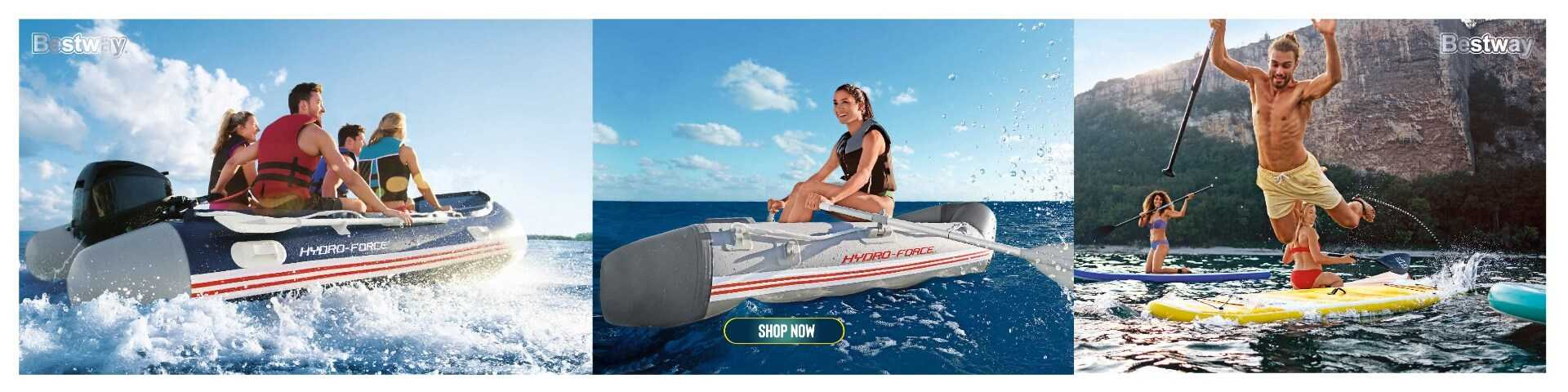 Bestway Battle Bomber Raft - Color Land Toys