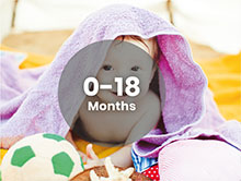 Toys for 0-18 months babies