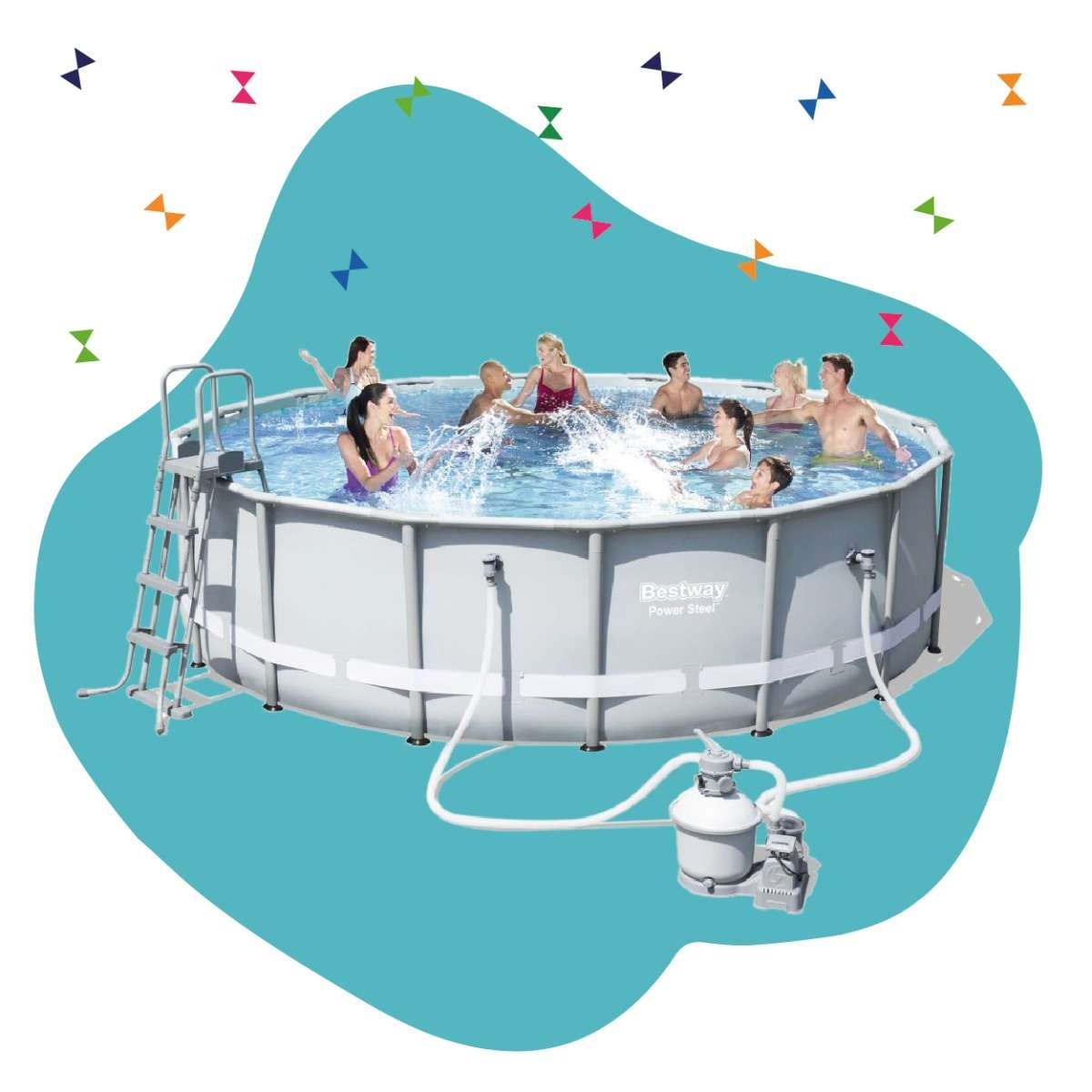 outdoor swimming pools for kids