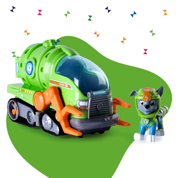 toy vehicles for kids banner