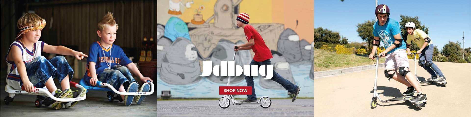 JD Bug Scooter - Color Land Toys